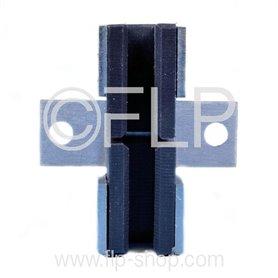 Guide shoe counterweight- Monospace G5 - 82 x 74 x 30 mm