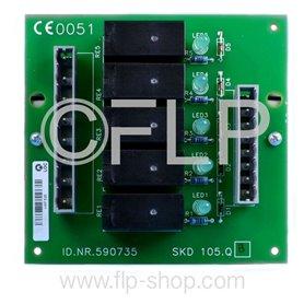 Board skd 105.Q-590735 -Miconic SX/LX