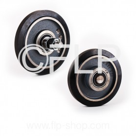 Roller R18, rubber lining